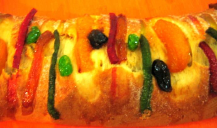 Comida Típica de Navidad en México-Rosca-de-reyes