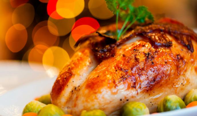 Comida Típica de Navidad en México - Pavo