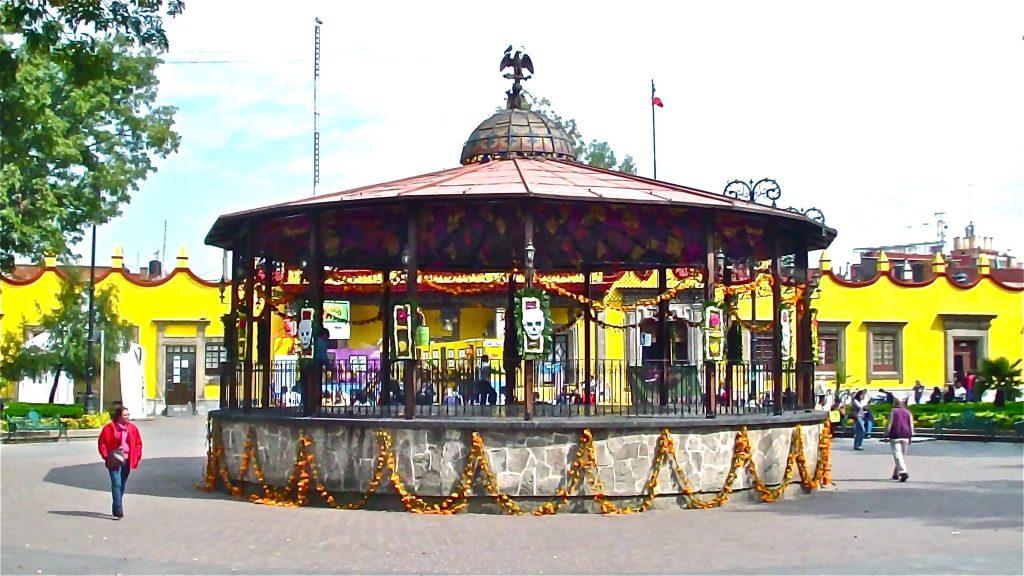 Lugares históricos en la Ciudad de México
